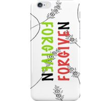 Forgiven #4 iPhone Case/Skin