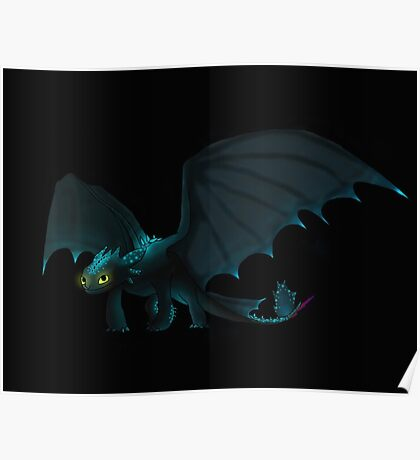 Alpha Toothless Poster
