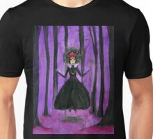 Valentina, Crystal Witch - coracrow Unisex T-Shirt