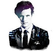 Matt Smith - Doctor Who Photographic Print