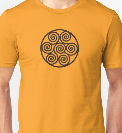 Seven Spirals Symbol Unisex T-Shirt