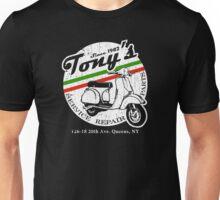 Tony's Scooter Repair (vintage look) Unisex T-Shirt