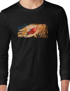 Chevy Rat Rod Badge Long Sleeve T-Shirt