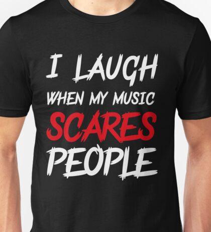 Scares people Unisex T-Shirt