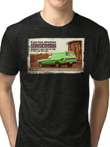 Holden Sandman Panel Van - Nostalgic © Tri-blend T-Shirt