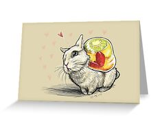 Bunny with Jelly Greeting Card