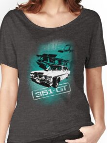 Ford Falcon XY GTHO Phase III (Grunge) © Women's Relaxed Fit T-Shirt