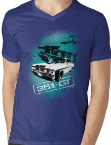 Ford Falcon XY GTHO Phase III (Grunge) © Mens V-Neck T-Shirt