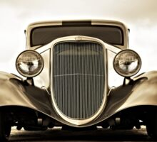 1933 Ford Coupe Lomo © Sticker