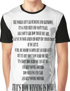 Rocky Motivation Graphic T-Shirt