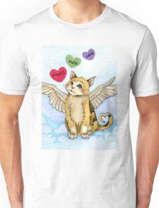 Valentine Cat Unisex T-Shirt