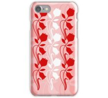 Layered Floral Silhouette Print (2 of 8 please see description) iPhone Case/Skin