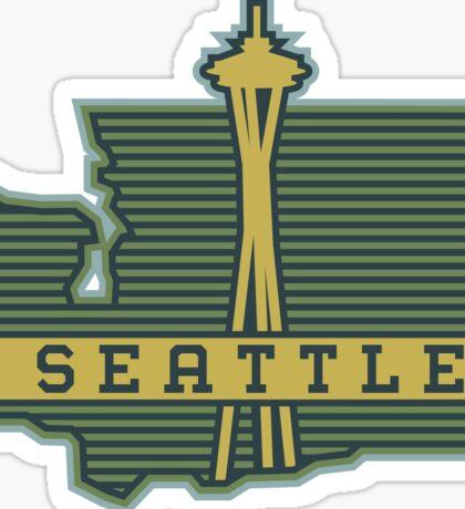 Seattle graphic gear! Sticker