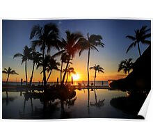 Sunrise at Cabo San Lucas Poster