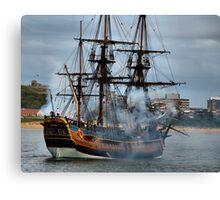 The Endeavour - Newcastle Harbour NSW Australia Canvas Print