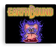 Earthbound Andonuts' Rage Canvas Print