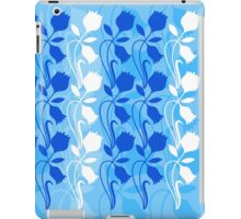 Layered Floral Silhouette Print (3 of 8 please see description) iPad Case/Skin