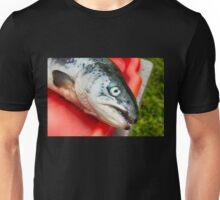 raw salmon fish  Unisex T-Shirt