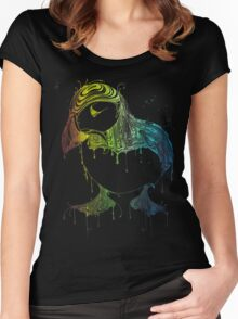 RAVING PUFFIN Women's Fitted Scoop T-Shirt