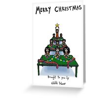 Child Labour Christmas Greeting Card