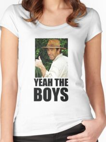 Yeah The Boys Women's Fitted Scoop T-Shirt