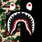 Camo Shark by Saidugadu