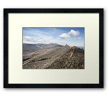 Cathedral Range State Park Framed Print