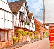 Classic Old English Village - Tudor Britain by Mark Tisdale