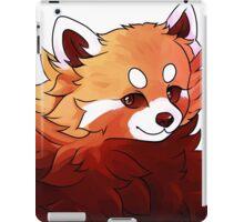 red panda pal iPad Case/Skin