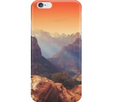 Zion Sunrays iPhone Case/Skin