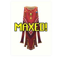 RUNESCAPE MAX CAPE! Art Print