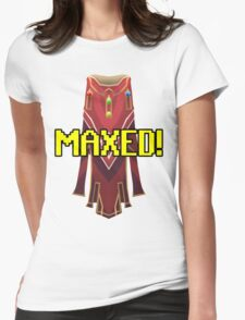 RUNESCAPE MAX CAPE! Womens Fitted T-Shirt