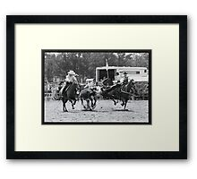 Remind me again...What comes next? Framed Print