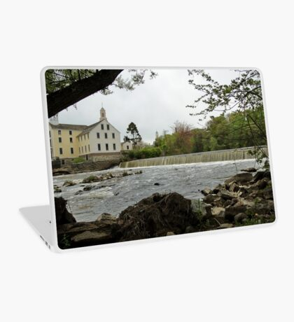 Slater Mill and Dam Laptop Skin
