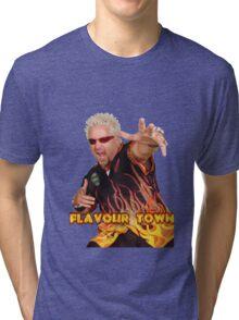 Guy Fieri Flavour Town Tri-blend T-Shirt