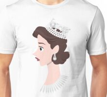 The Queen. The Crown. Unisex T-Shirt