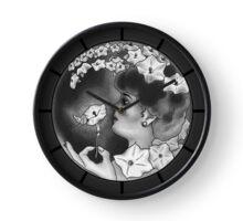 Woman in the Moon Clock