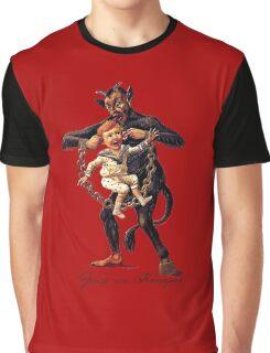 Gruss vom (Greetings From) Krampus Graphic T-Shirt