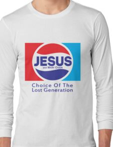 Jesus & Mary Chain - Lost Generation Pepsi Mashup Long Sleeve T-Shirt