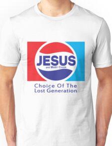 Jesus & Mary Chain - Lost Generation Pepsi Mashup Unisex T-Shirt
