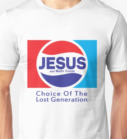 Jesus & Mary Chain - Lost Generation Pepsi Mashup Unisex T-Shirt