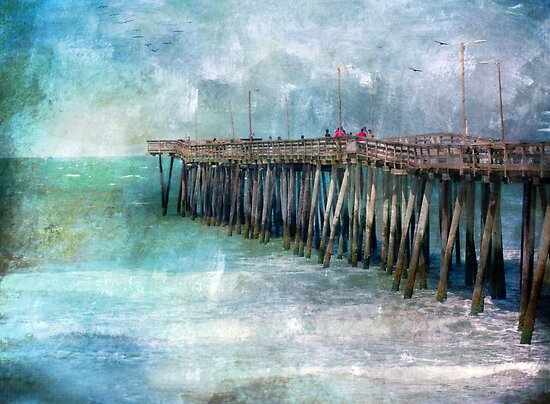 Nature's Intensity in Deep Blues by Susan Werby