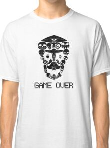 Game Over(Dark on Light) Classic T-Shirt
