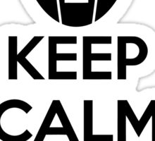 Keep Calm And Delete Sticker