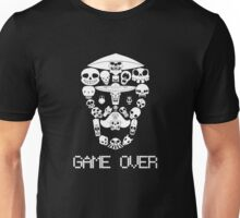 Game Over(White on Dark) Unisex T-Shirt