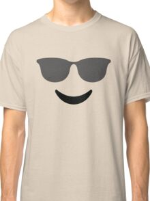 Emoji with Cool Sunglasses Classic T-Shirt
