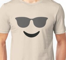Emoji with Cool Sunglasses Unisex T-Shirt