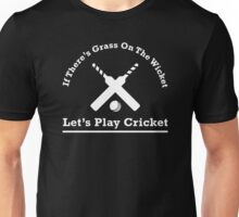 Let's Play Cricket Unisex T-Shirt