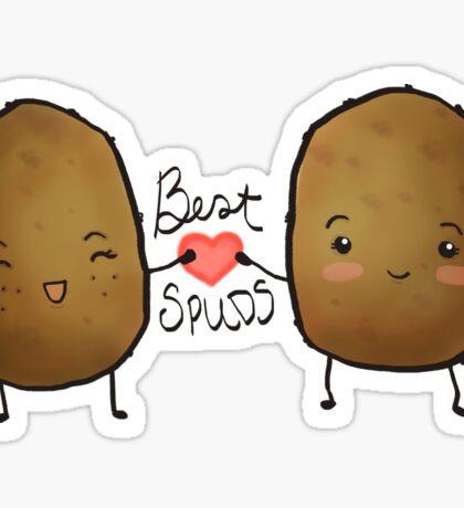 Best Spuds Sticker