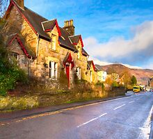 Cozy Cottage In A Beautiful Scottish Highland Village by Mark Tisdale